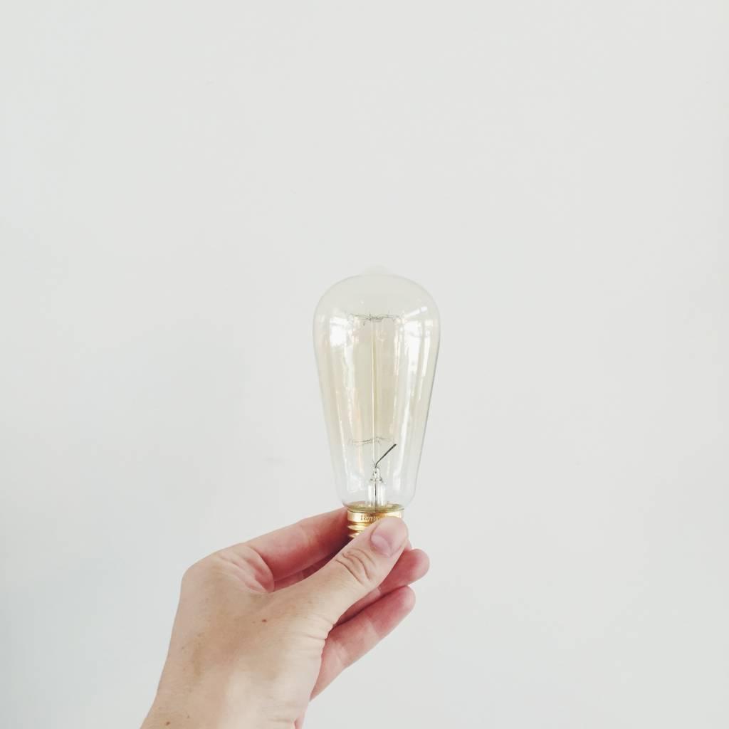 Filament Amber Light Bulb