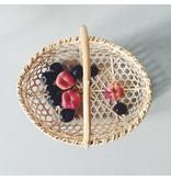 Handmade Japanese Bamboo Farmer basket