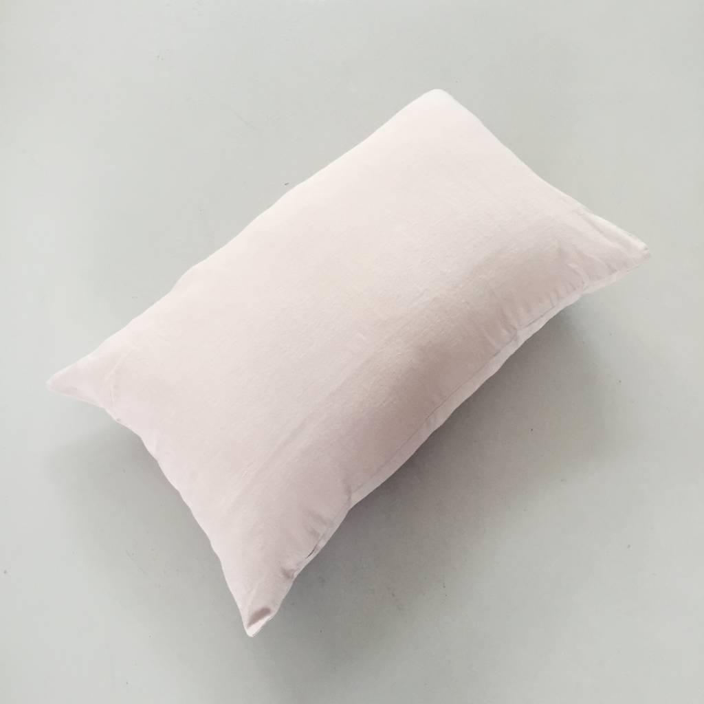 Linge Particulier  Linge Particulier Cushion Cover Sand Washed Linen 40 x 60 cm