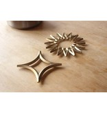 Futagami Futagami Brass Trivet Star