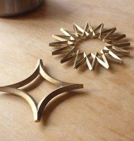 Futagami Brass Trivet Star