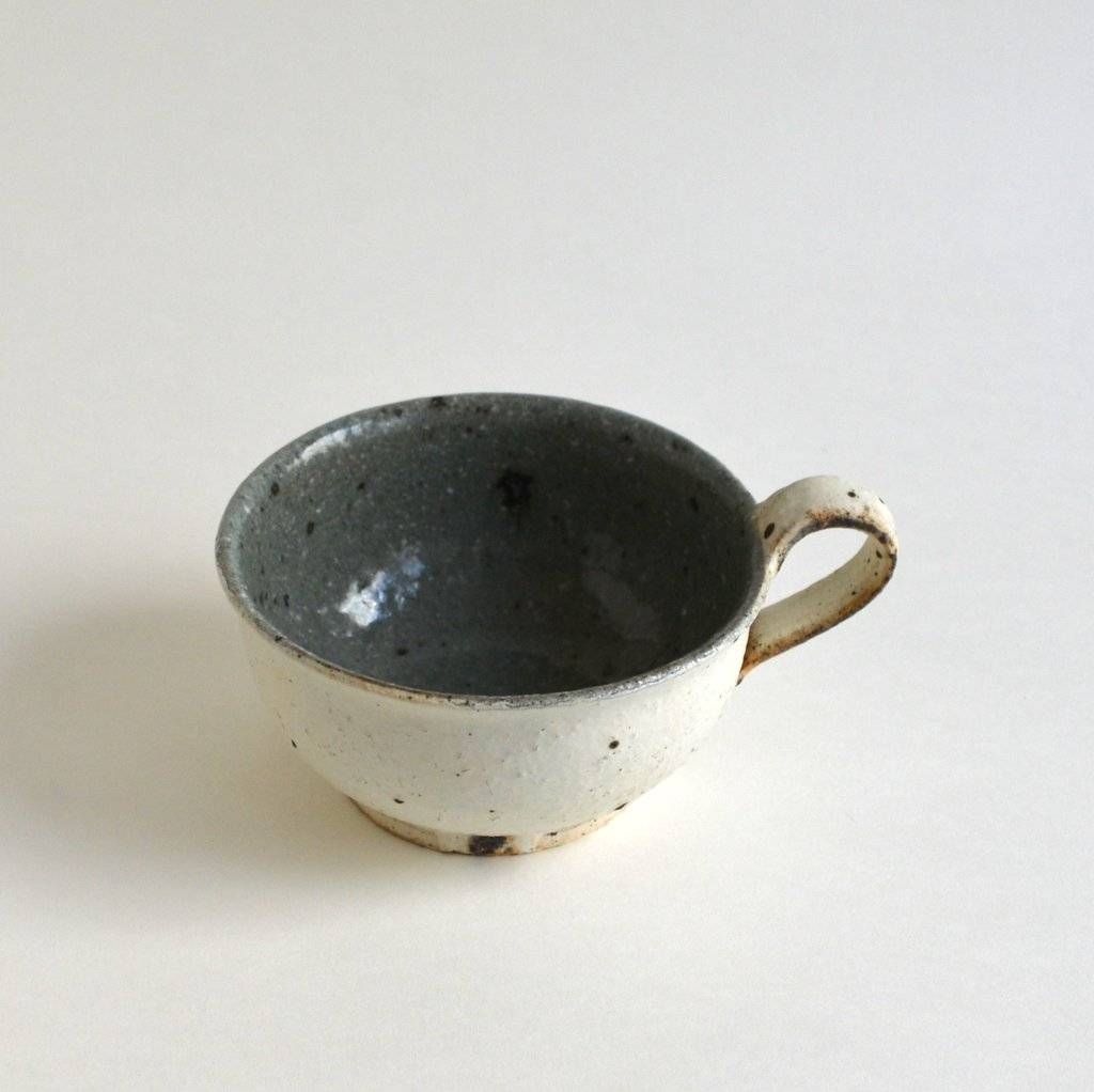 Japanese Blended Clay Soup Cup