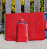 Tablet- + Smartphone Tasche - rot