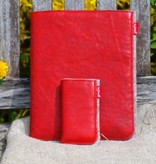 Tablet- + Smartphone Tasche - rot