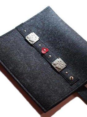 eBook Reader Tasche in anthrazit