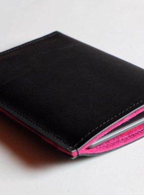 eBook Reader Tasche schwarzes Büffelleder