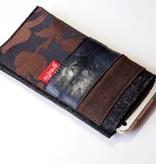 Smartphone Taschen im braunen Materialmix