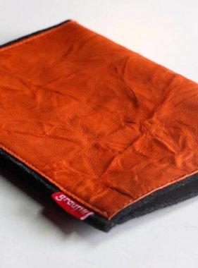 Kindle/eBook Reader Tasche mit Leder in apricot