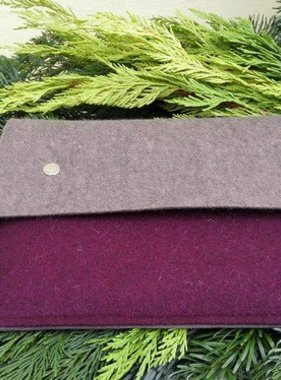 Ipad / Tablet Clutch aus Wollfilz