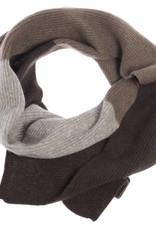 100% Yakwolle Ochiri - Schal aus Yakwolle - dreifarbig