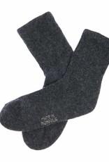 100% Yakwolle Socken aus Yakwolle - antrazit