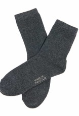 100% Kaschmir Socken aus Kaschmir - antrazit