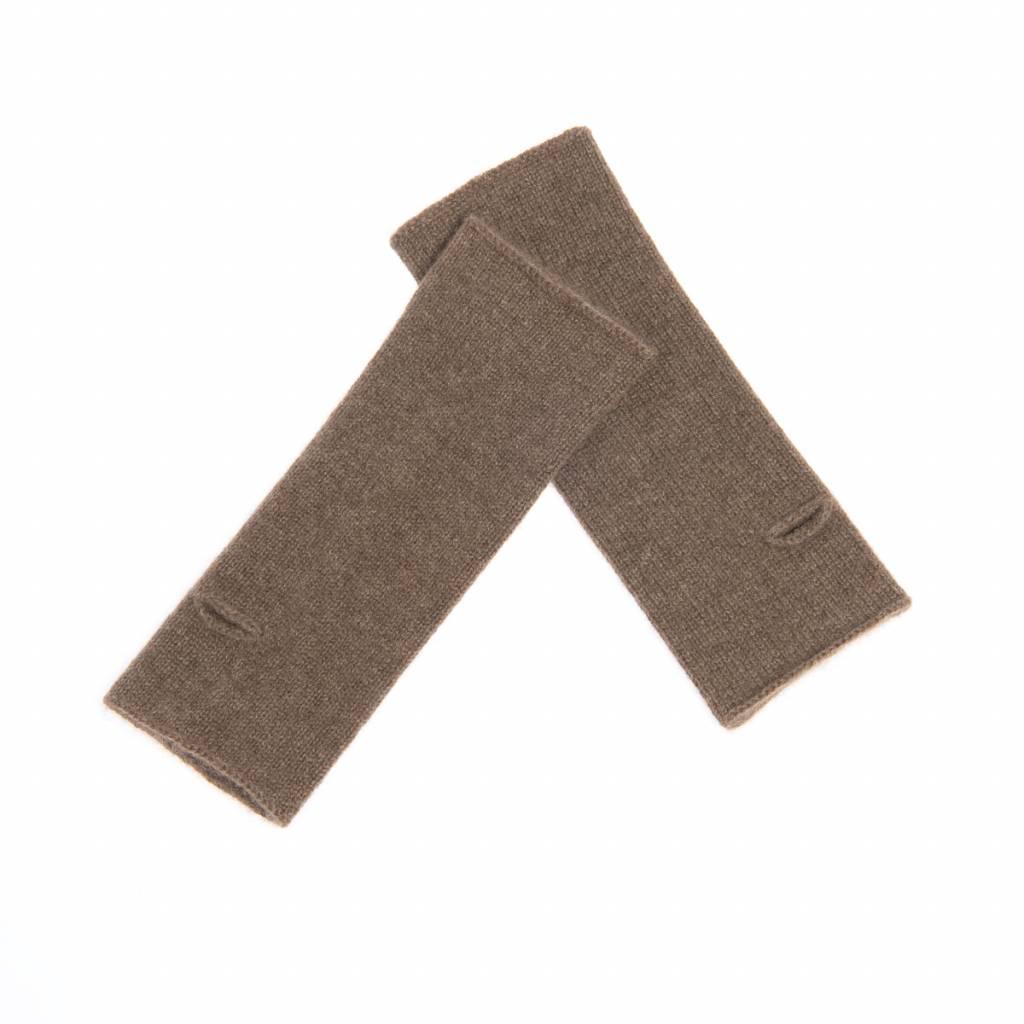 100% Yakwolle Enhe - Stulpen aus Yakwolle -  26 cm