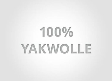 100% Yakwolle