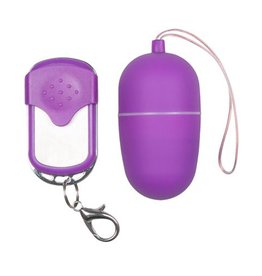 Easytoys Vibe Collection Vibro-Ei mit Fernbedienung in Violett