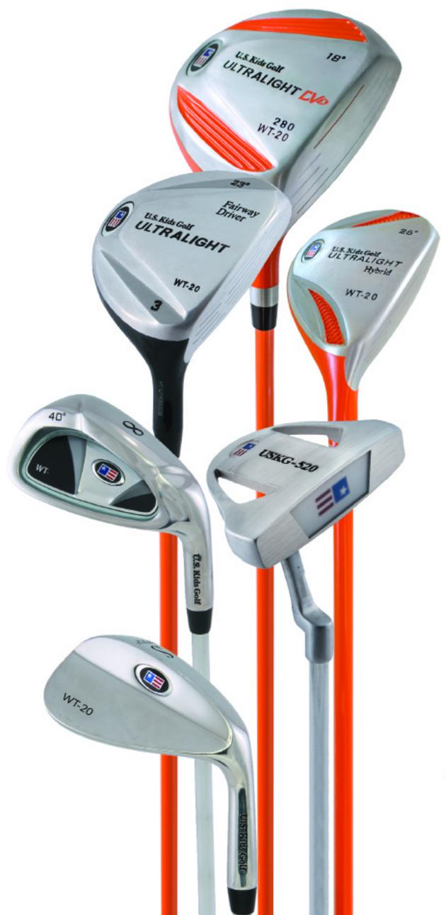 Die Ultralight Series Golfsets von US Kids Golf für Anfänger