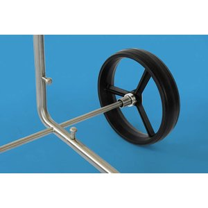 PG-Powergolf SteelCad Felix - Der 2 Rad Trolley aus Edelstahl