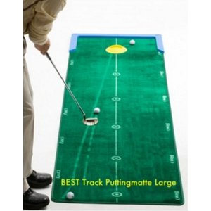 "Best Track - Golftrainingsmatten Puttingmatte ""Large"""