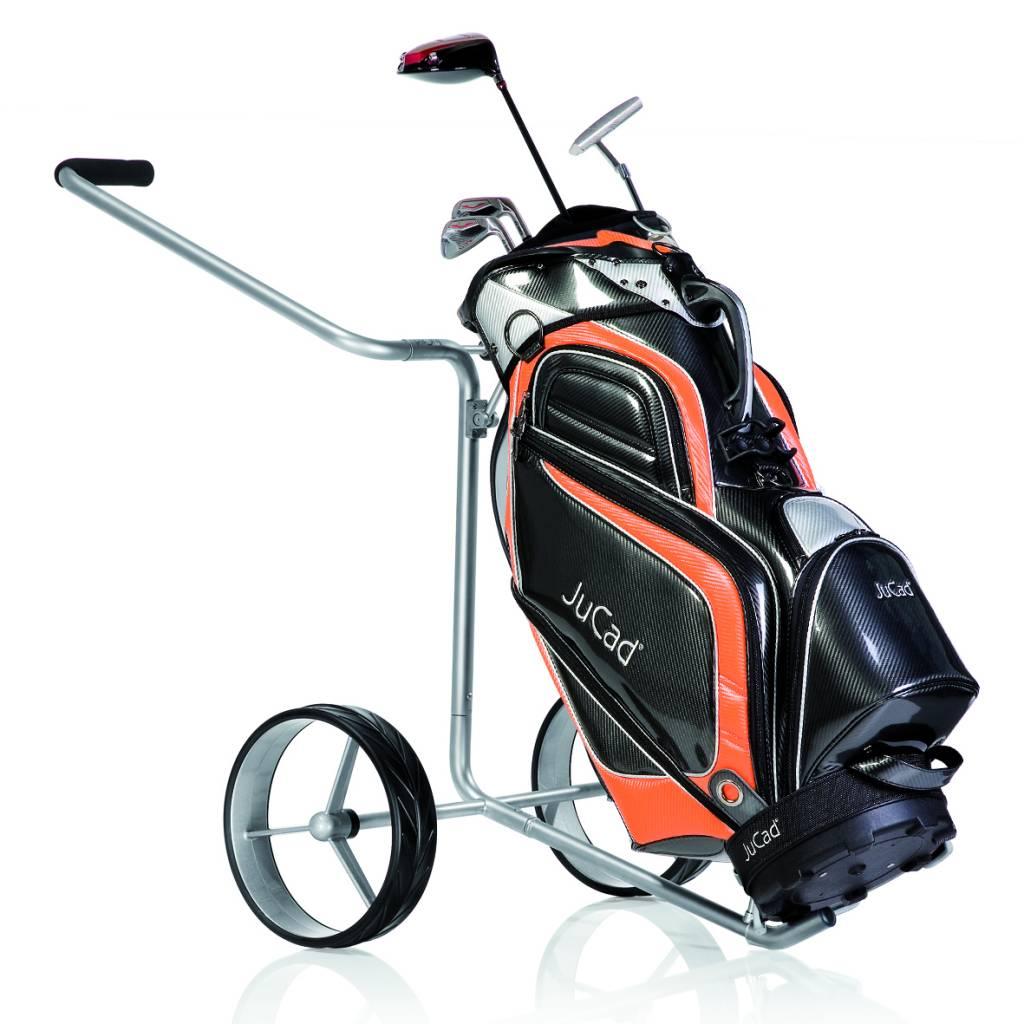 jucad edition 2 rad golftrolley kinderleicht und extrem klein. Black Bedroom Furniture Sets. Home Design Ideas