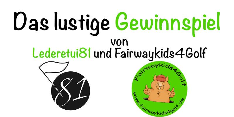 Das Gewinnspiel von Fairwaykids4Golf und Lederetui81