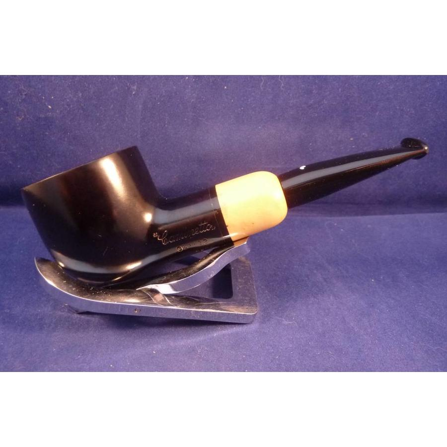 Pipe Caminetto (05) Nero with Boxwood Pot
