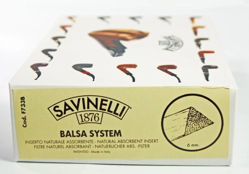 Savinelli Balsa Filter 6 mm. 300 pcs.