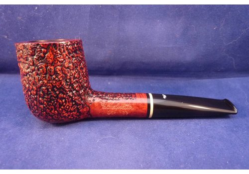 Pipe Caminetto (06) Sandblasted Billiard