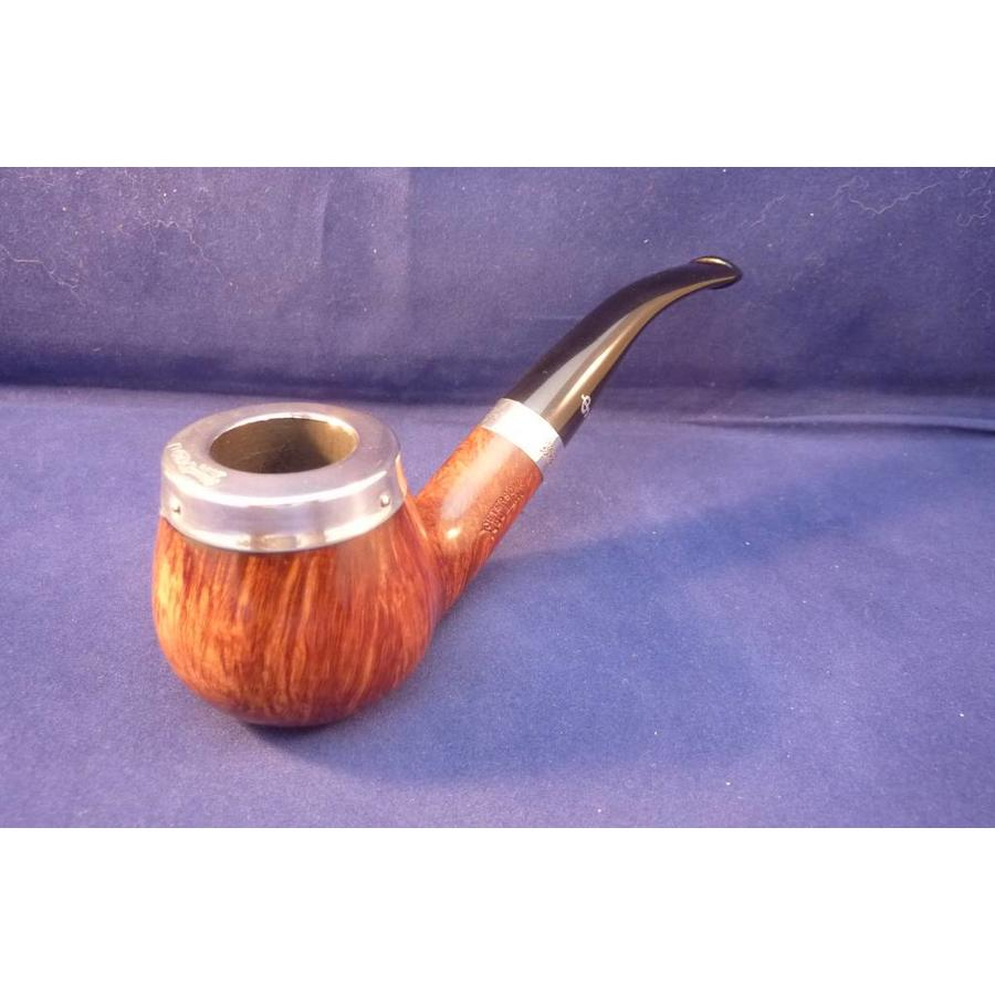 Pipe Peterson Silver Cap B11 Brown
