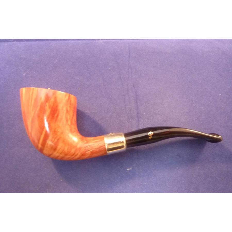 Pijp Peterson Gold Mounted Calabash