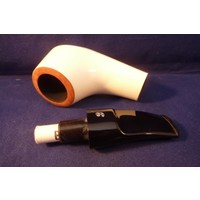 Pipe Big Ben Bora White Polish 576