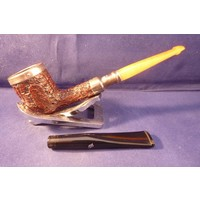 Pipe Peterson Silver Cap 15 Sand Spigot Amber