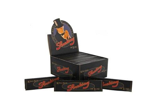 Smoking Kingsize Deluxe Black Vloei Box