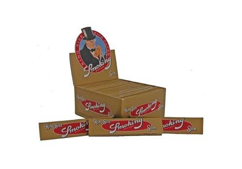 Smoking Kingsize Gold Rolling Paper Box