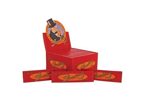 Smoking Kingsize Red Rolling Paper Box
