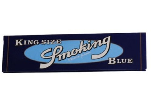 Smoking Kingsize Blue Vloei