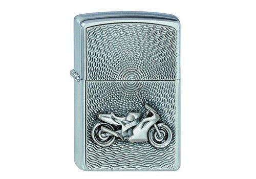 Lighter Zippo Motor Bike Emblem