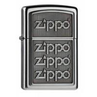 Aansteker Zippo 4 Zippo Logos 3D