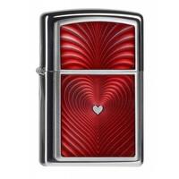 Aansteker Zippo Red Heart 3D