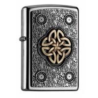 Lighter Zippo Celtic Knot Emblem