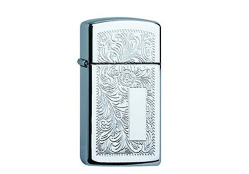 Lighter Zippo Venetian Chrome Slim