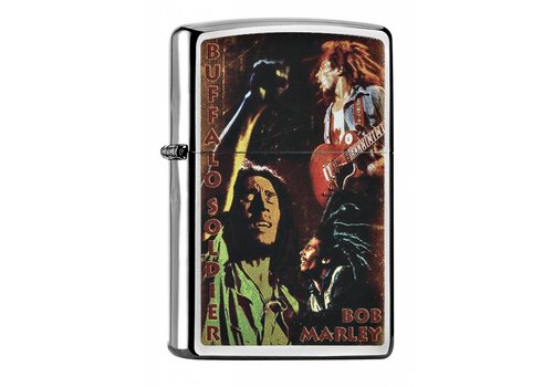 Aansteker Zippo Bob Marley Buffalo Soldier
