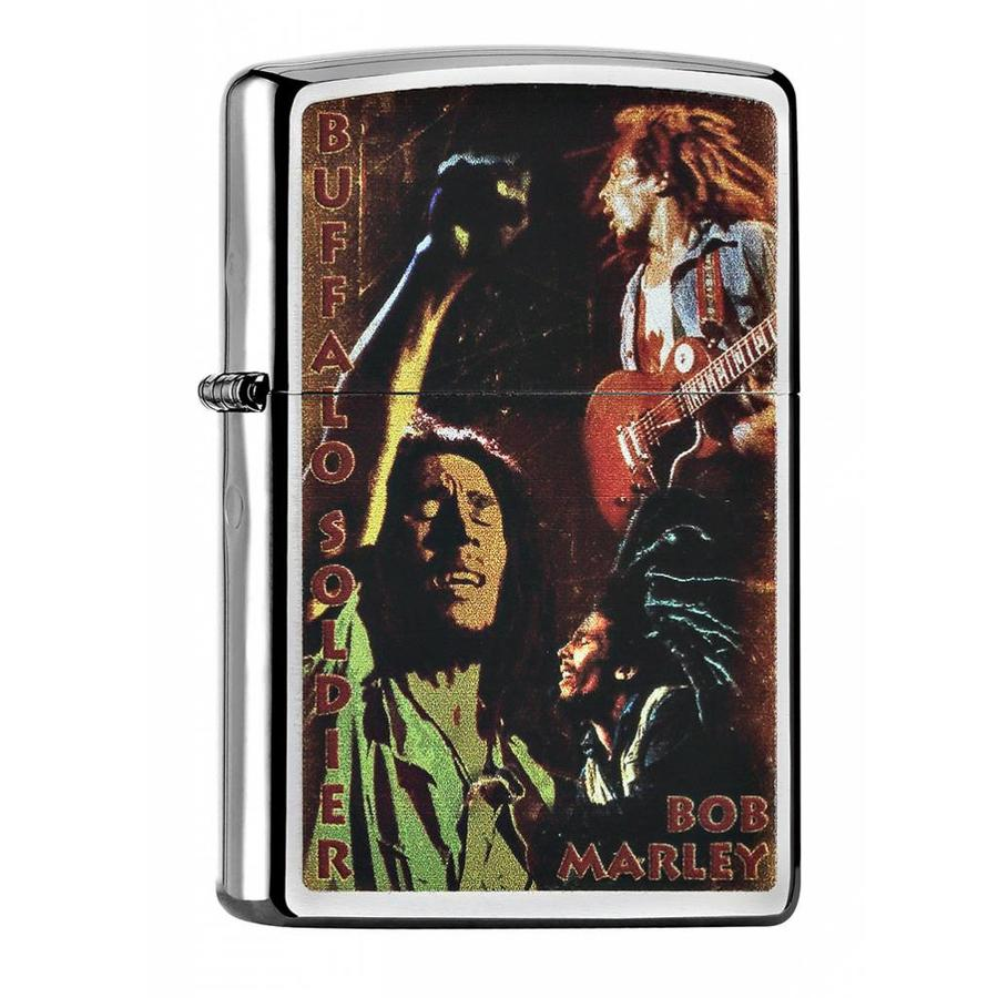 Lighter Zippo Bob Marley Buffalo Soldier