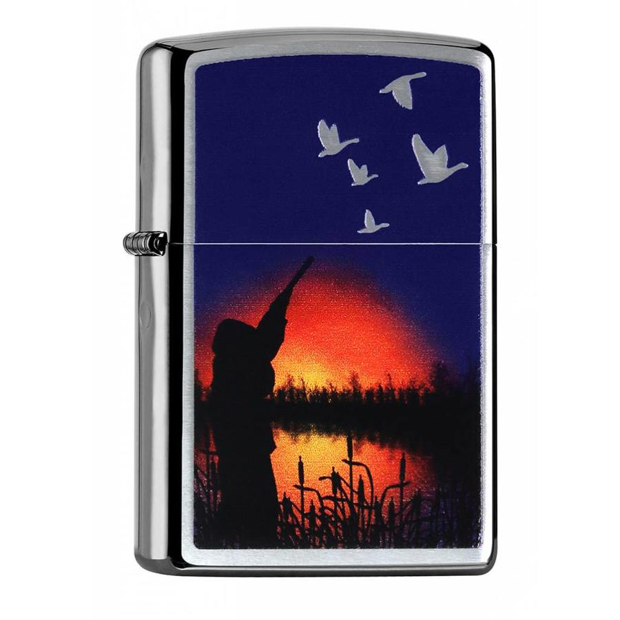 Lighter Zippo Moonlight Duck Hunting