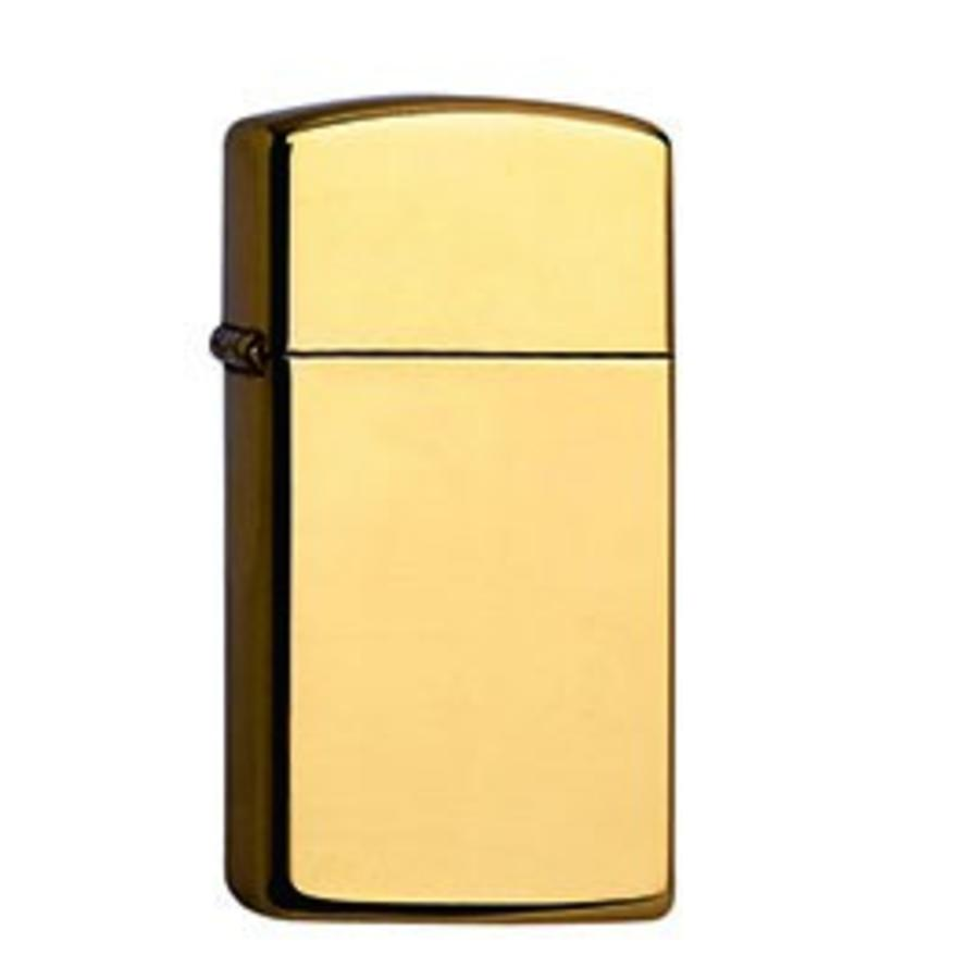 Aansteker Zippo Slim High Polish Brass