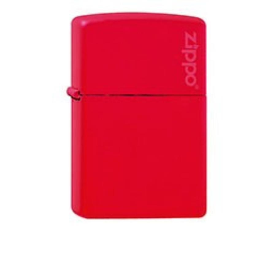 Aansteker Zippo Red Matte with Zippo Logo