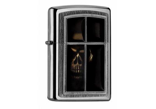 Aansteker Zippo Anne Stokes Window Skull