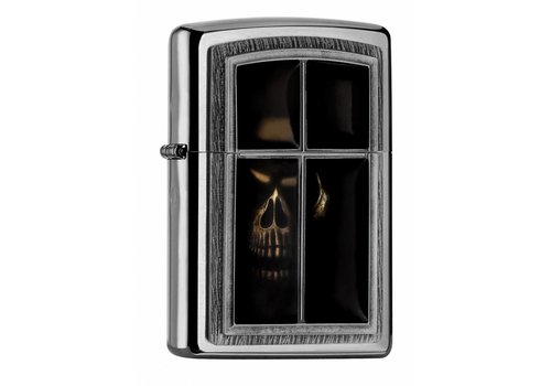 Lighter Zippo Anne Stokes Window Skull