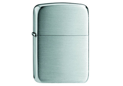 Lighter Zippo Replica 1941 Hand Satin Silver