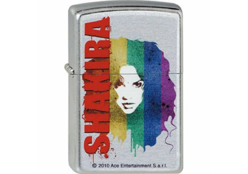 Lighter Zippo Shakira Rainbow