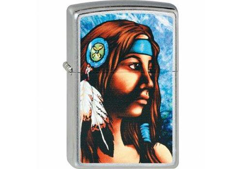 Aansteker Zippo Native American Girl